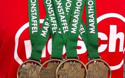 Nosch-Staffel beim Freiburg Marathon