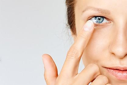 Brillengutschein beim Kauf von Kontaktlinsen