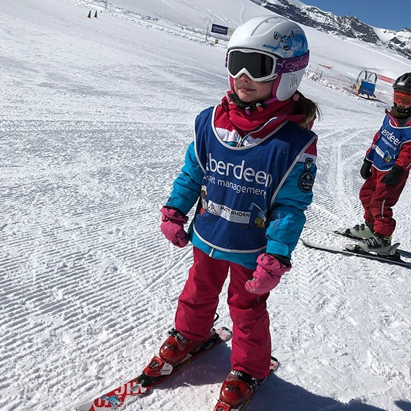 Kinder-Sportbrille für den Winter