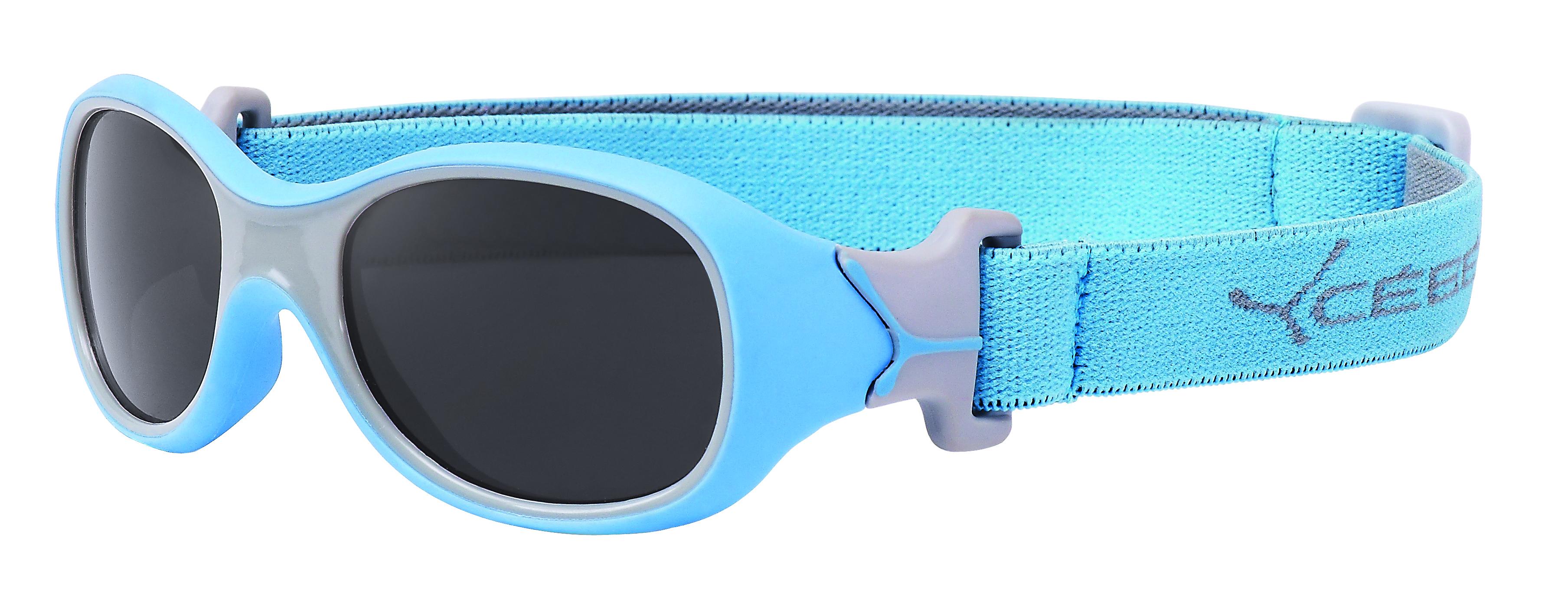 Blaue Sportbrille