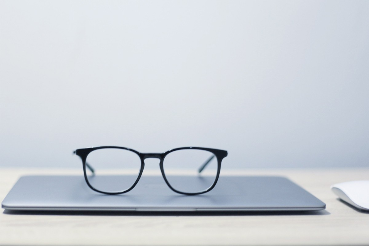 Brille Laptop