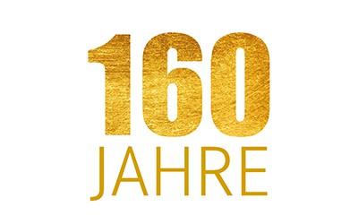 160 Jahre – Jubiläumsangebote
